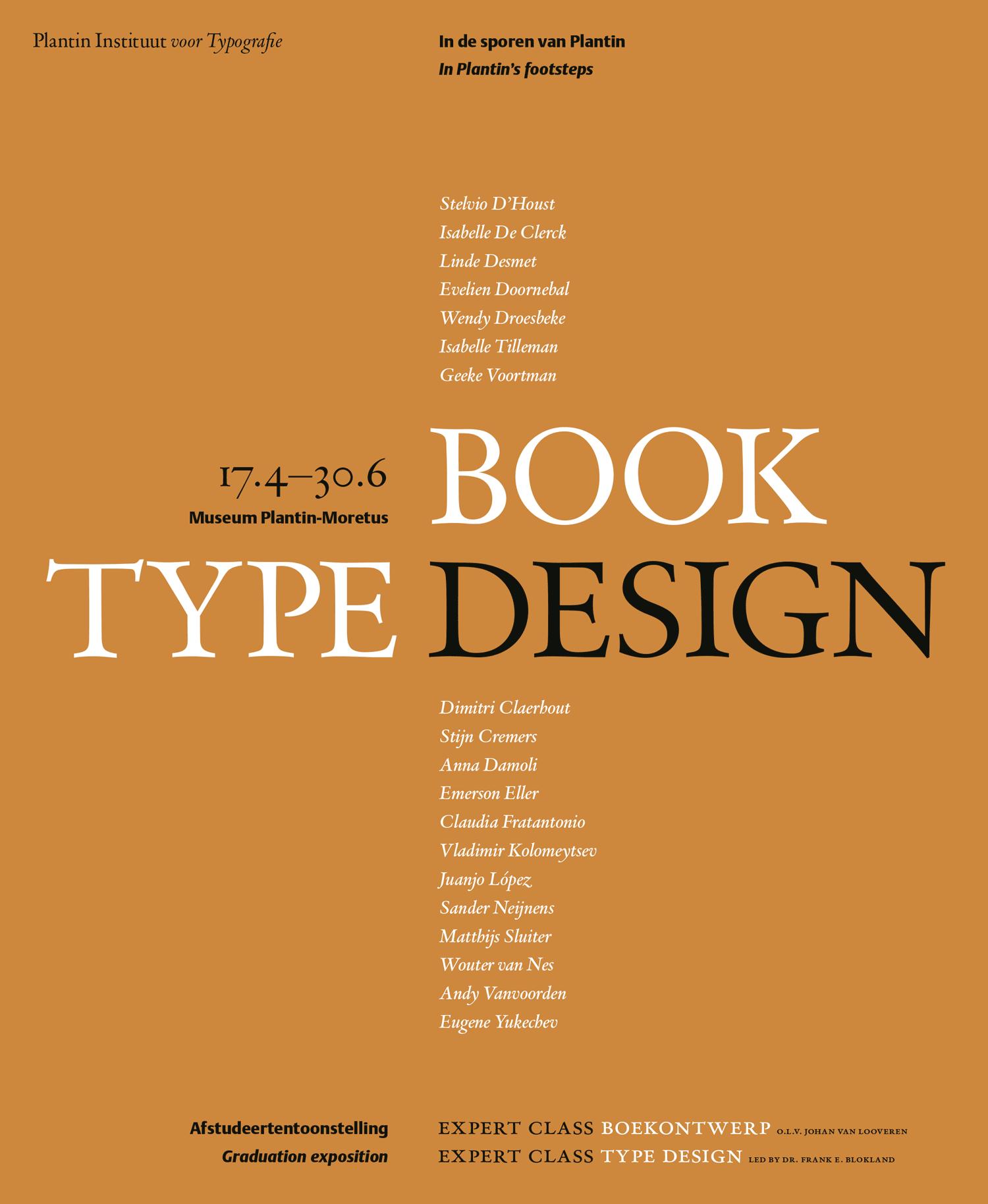 Boekontwerp Type Design