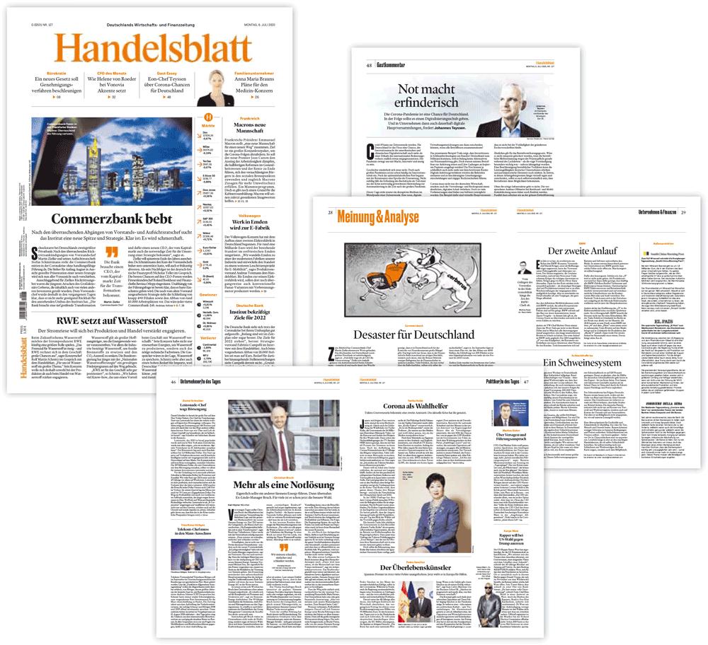 Redesign Handelsblatt
