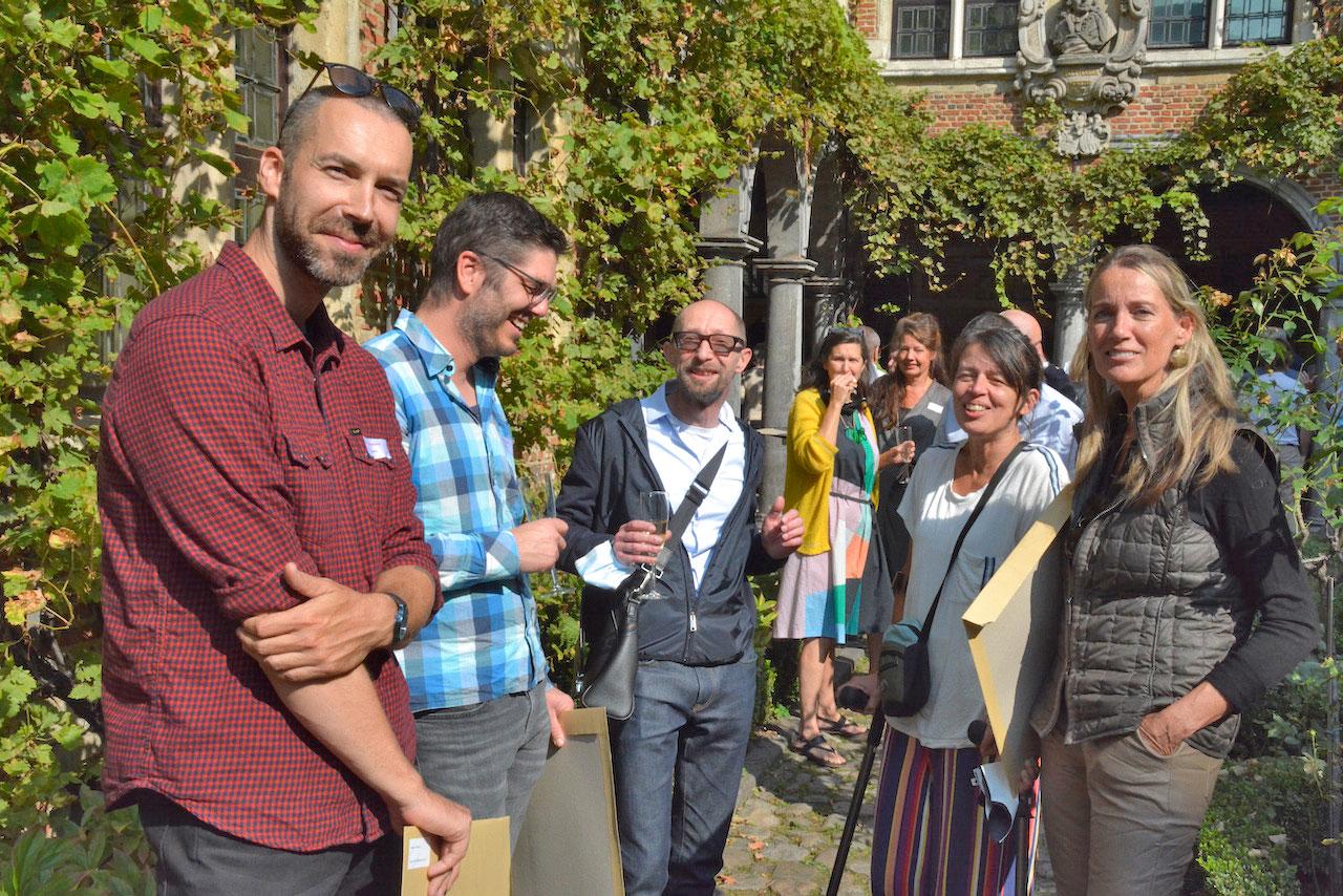 Boekontwerpstudenten en Jurgen Persijn