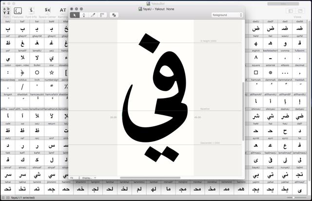 Yakout Bold Linotype