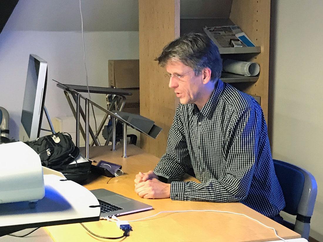 Erik Van Blokland, college Variable Font Format