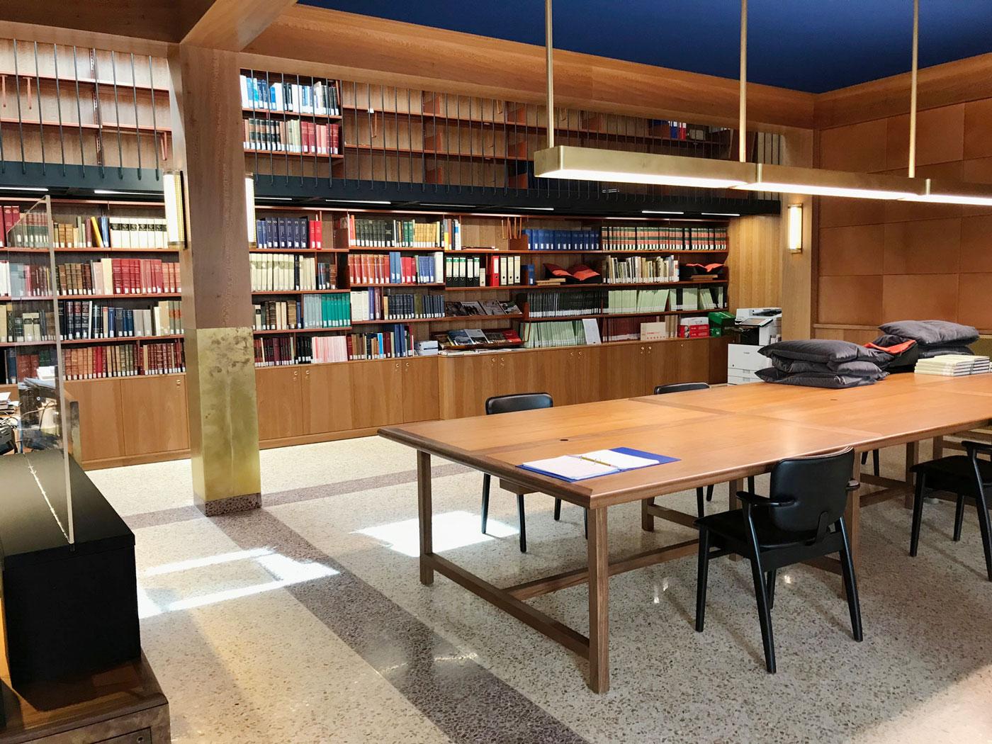 Leeszaal Museum Plantin-Moretus