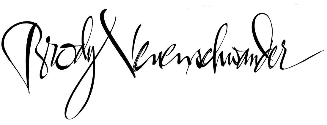 Handtekening Brody Neuenschwander