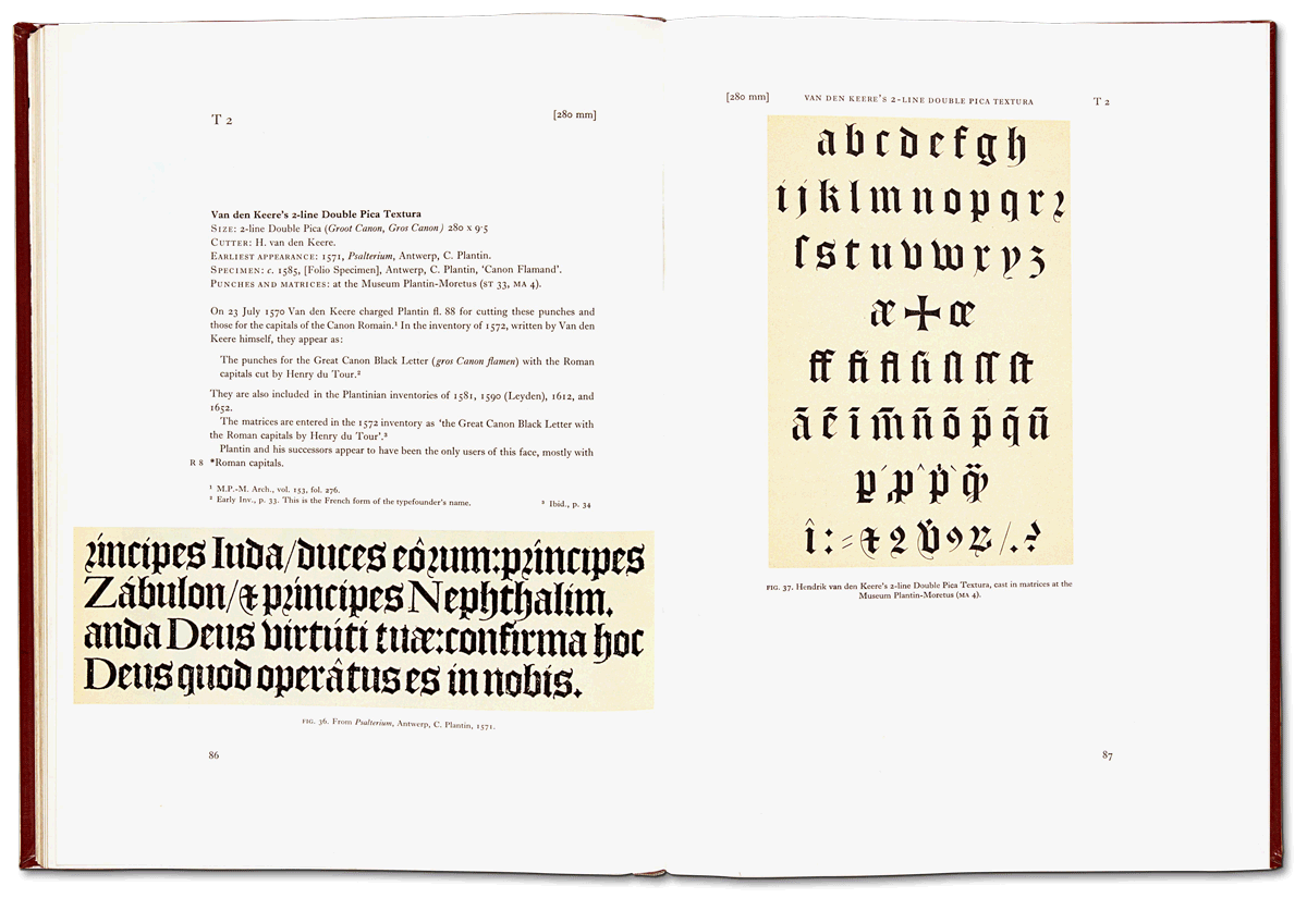 Sixteenth-century printing types of the Low Countries