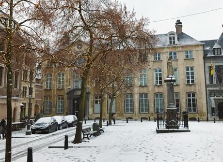 Vrijdagmarkt museum Plantin-Moretus